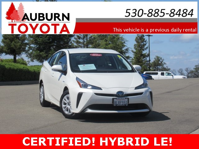 Certified Pre-Owned 2020 Toyota Prius LE