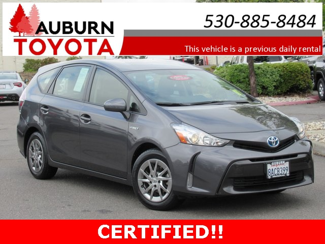 Certified Pre Owned 2017 Toyota Prius V Four